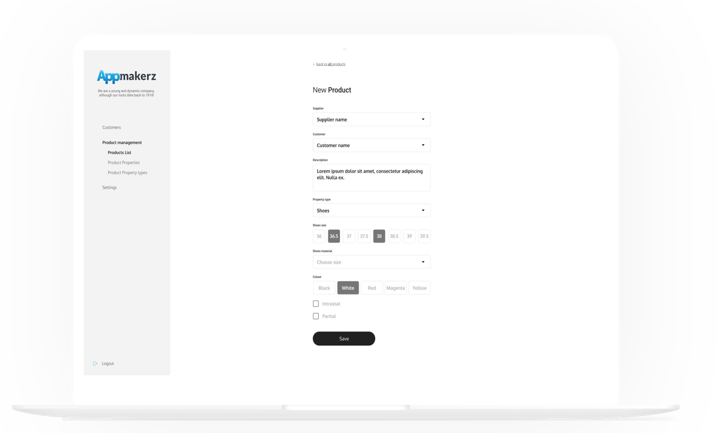 Nieuw Product Appmakerz